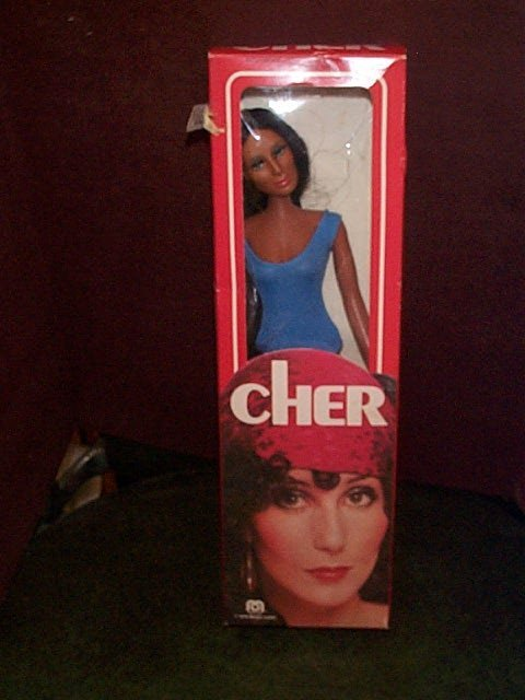 707: Mego Corp  Cher doll  Mint in box  Buyer to pay $1