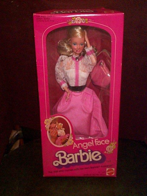 711: Mattel Angel Face Barbie # 5640  Mint in box  Buye