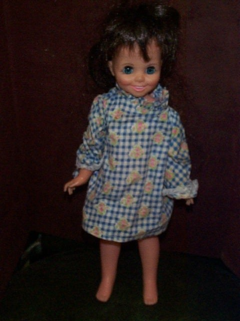 718: Ideal 1970 Growing hair doll  Marked 13 EYE NGH-15