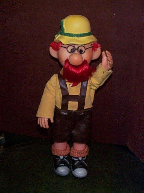 "719: 1969 The Nestle Company Mascot doll  Measures 12"""