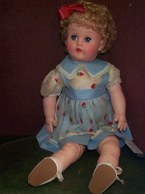 """846: """"Glamour Girl""""  The miracle Hair Doll Measures 18"""""""