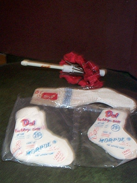 859: Vintage doll accessory lot  Including ( 2 ) packag