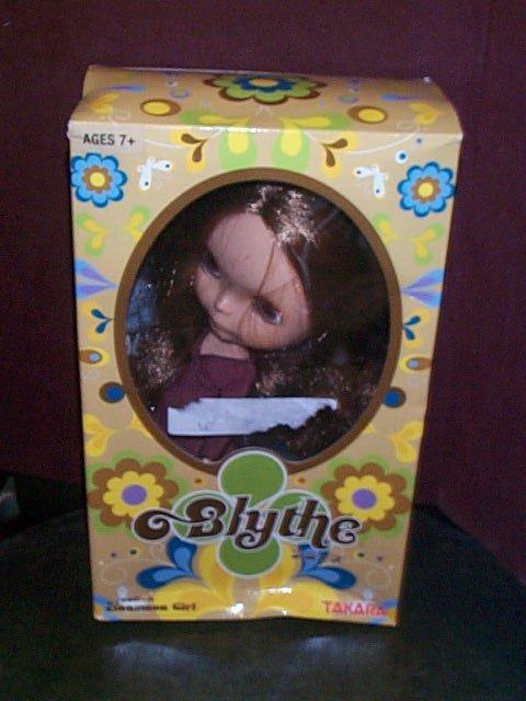 861: Hasbro Blythe Doll  Cinnamon Girl  Made for Chines