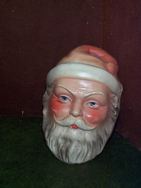 867: Composition possibly made in Germany Santa Claus H