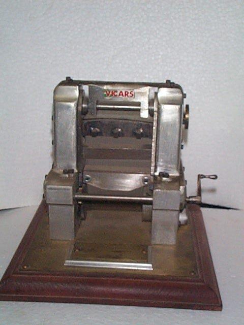 942: Unusual Miniature Scale model of a Press Machine s