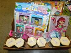 Box Lot of Misc Toys and Figures Some Disney