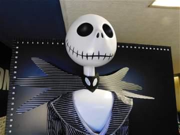 Life-Size Jack Skellington Animated Character