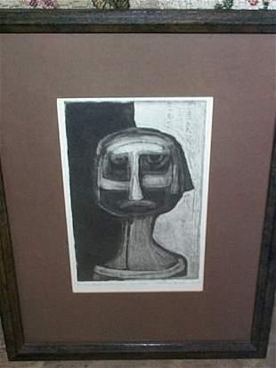Artist Proof, signed Richard Hooke 8/75, entitled