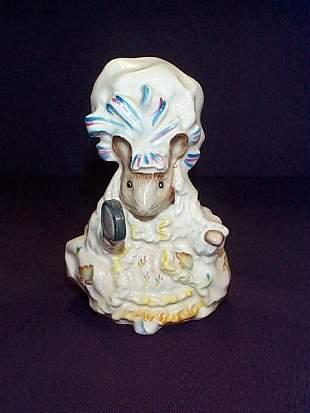 """Beswick England Beatrix Potter """"Lady Mouse"""" Figuri"""