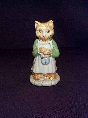 "Beswick England Beatrix Potter ""Ginger"" Figurine."