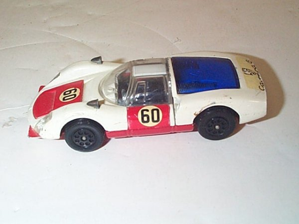 4: Corgi Toys  Whizzwheels Porsche Carrera # 6  In very