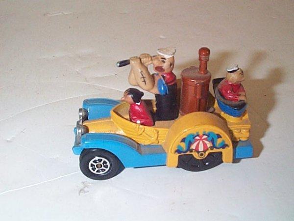 6: Corgi Juniors  Whizzwheels  Popeye Padle-wagon  In v