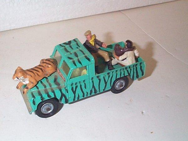 """21: Corgi Toys Land Rover 109"""" WB  Safari pickup truck"""
