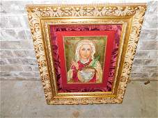 Oil on Canvas St. Lucy