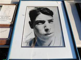 Joe DiMaggio Autographed Photo with COA