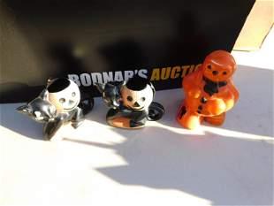 Lot of 3 Vintage Halloween Toys