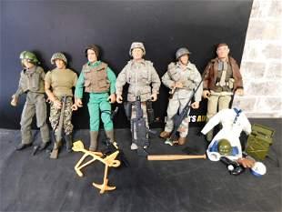 Lot of 6 G.I. Joe Figures