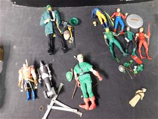Box Lot of Mostly DC Figures