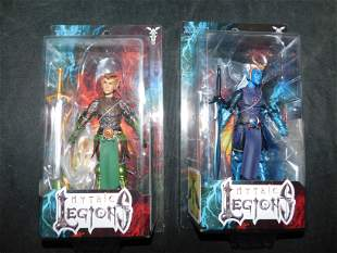 Mythic Legions Action Figure Lot of 2
