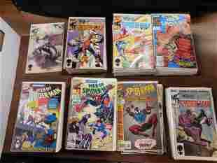 Short Box of Web of Spider-Man Comics