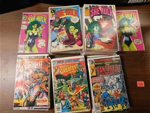 Short Box Lot of Sensational She -Hulk and Marvel's