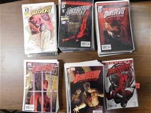 Short Box of Bendis and Brubaker Daredevil Comics