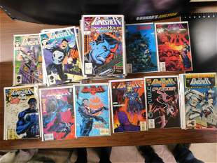 Short Box of The Punisher 1st Series Comic Book Lot