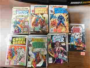 Run of Ghost Riders 1st Series Comic Book Lot