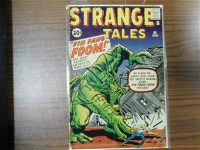 Strange Tales #89