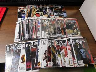 Marvel Knights Punisher and Punisher Max Comic Lot