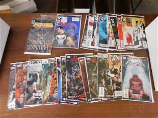 Lot of Punisher Comics including Punisher Kills the