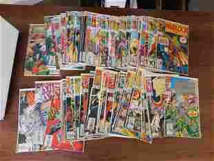 Adam Warlock and Silver Sable Comic Book Lot