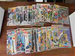 Deathlok and Checkmate Comic Book Lot