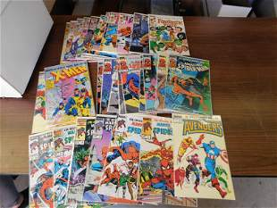 MiniSeries and Marvel Index Comic Book Lot
