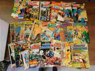 Lot of Silver Age Comics including Detective and