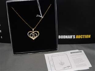 Nolan Miller Heart Necklace