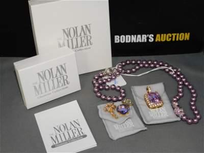 Lot of Nolan Miller Pendants & Necklace
