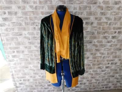 Art Deco Velvet Jacket