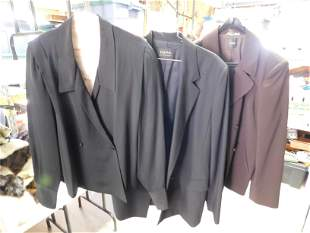 3pcs Womens Jackets