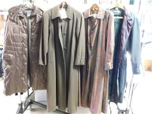 4pcs Womens Coats