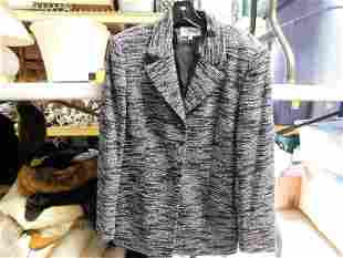 Valentino Miss V Tweed Blazer