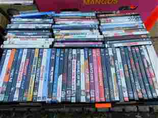 Large Lot of DVD's movies