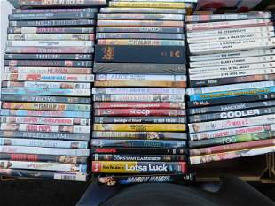 Large Lot of DVDs movies