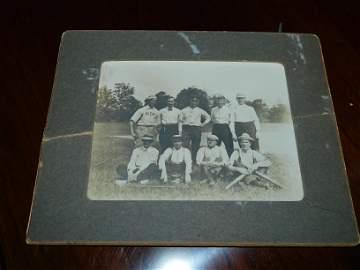 CDV of an Early Baseball Team