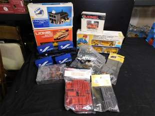 Lot of Lionel Trains and Accessories