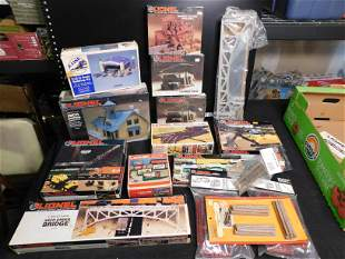 Large Grouping of Mostly Lionel Train Accessories