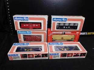 American Flyer Lot of 6 Rolling Stock Cars