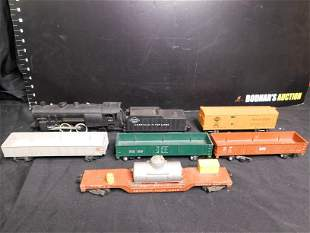 American Flyer Lot of Engine and Rolling Stock