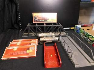 Lot of Lionel and LGB Rolling Stock and Accessories