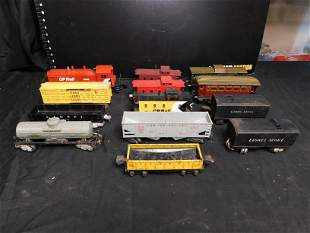 Lot of 13 Trains - Lionel and European Cars